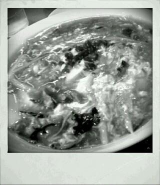 酸ラー担麺?